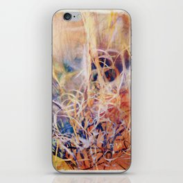 Tangled Desert Grass on a Windy Day iPhone Skin