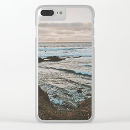 Pacific Highway Sunset Clear iPhone Case