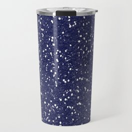 Blue Glitter I Travel Mug