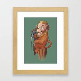 Voice Of The Monkey  Framed Art Print