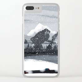 Troll land Clear iPhone Case