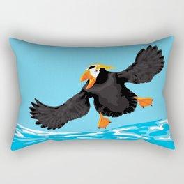Bering Sea Puffins Rectangular Pillow