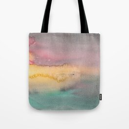Abstract landscape watecolor 1 Tote Bag