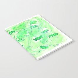 Watercolor Tardigrade Illustration Notebook