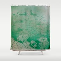 under the sea Shower Curtains featuring Under The Sea by ANoelleJay