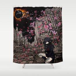 samurai sailoroutfit under neo tokyo eclipse... by rmd Shower Curtain