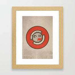 Ghostbuster 16-bit Framed Art Print