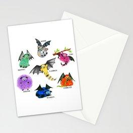 Seven Books, Seven Iggys Stationery Cards