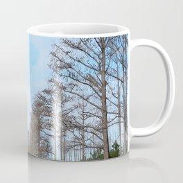 Watercolor People in Nature, OL, Adult 05, Okefenokee Swamp, Florida Coffee Mug