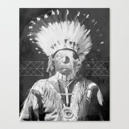 Native Cell Canvas Print