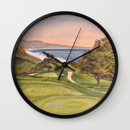 Torrey Pines South Golf Course Hole 6 Wall Clock