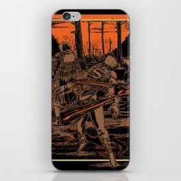 SAMURAI 3 iPhone Skin