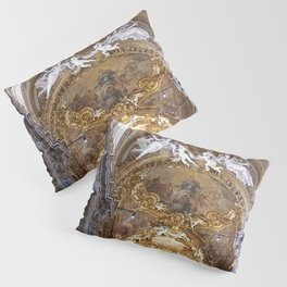 Santa Maria dell'Orto Church, Rome, Italy Pillow Sham