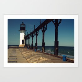 Outer Lighthouse Art Print