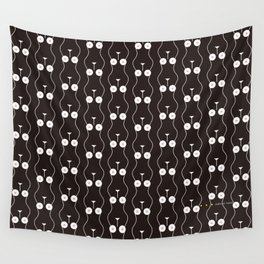 Boobs on Repeat | Black Wall Tapestry