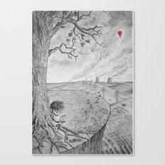 Swollen Canvas Print