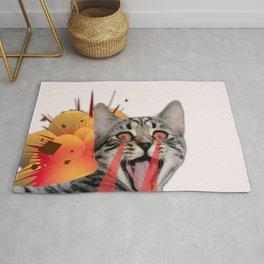 CAT ATTACK! Rug