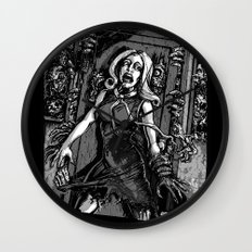 House of Zombies Wall Clock