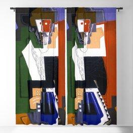 Gino Severini The Accordion Player Blackout Curtain