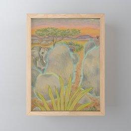 Solid Framed Mini Art Print
