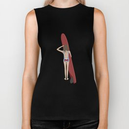 Surfer Girl Biker Tank