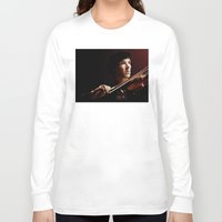 violin Long Sleeve T-shirts featuring Violin by Nero749