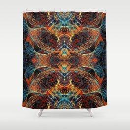 Hephaestus (Totem) Shower Curtain