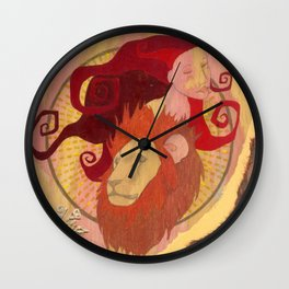 Leo, the Lion Wall Clock