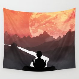 Let your fears run down the creek. Wall Tapestry