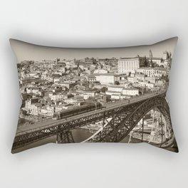 Porto sepia Rectangular Pillow