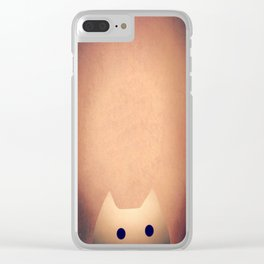 cat-44 Clear iPhone Case