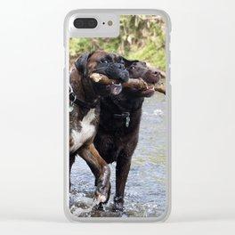My Stick Clear iPhone Case