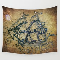 The Great Sky Ship Wall Tapestry