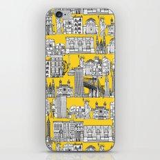 New York yellow iPhone & iPod Skin