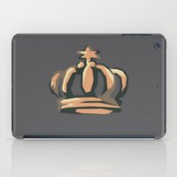 crown iPad Cases featuring Crown by Kritika Kripakaran