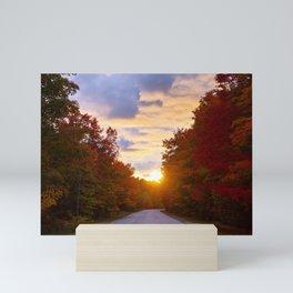 Autumn Leaves and Empty Streets ~ Mini Art Print