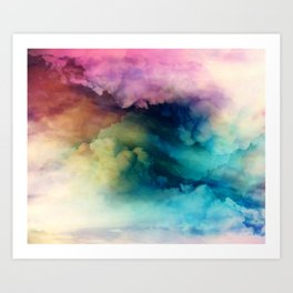 Rainbow Dreams Art Print