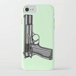 Hip Tattoo Pistols iPhone Case