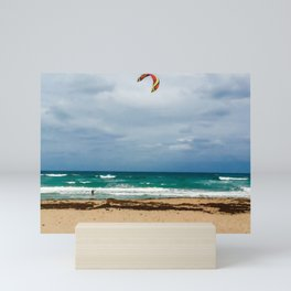 Kitesurfer, Jupiter Beach Mini Art Print