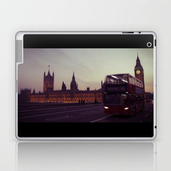 Big Ben at dusk, London | cinematic Laptop & iPad Skin