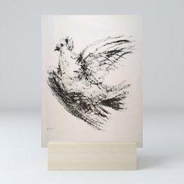 Advertisement la colombe  colombe vintage Mini Art Print