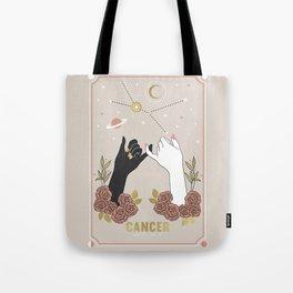 Cancer Zodiac Series Tote Bag