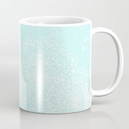 DANDY SNOWFLAKE AQUA Coffee Mug