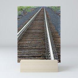 On The Tracks Mini Art Print