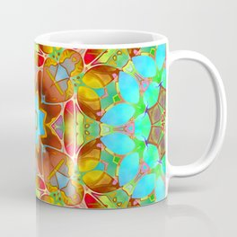 Floral Fractal Art G410 Coffee Mug