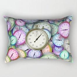Old Times Rectangular Pillow