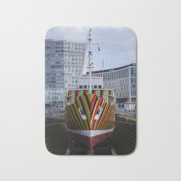 Dazzle ship Bath Mat