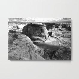 Vintage Landscape : Canyon de Chelly National Monument, Arizona Metal Print