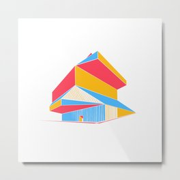 Rem Koolhaas - Seattle Central Library Metal Print