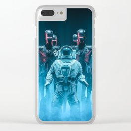 Caught in the Act Clear iPhone Case